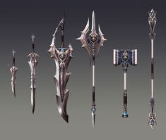 Weapon Designs - Game: Aion