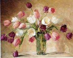 тюльпаны живопись картины: 17 тыс изображений найдено в Яндекс.Картинках