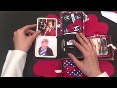 プレゼントボックス【ポスト】の仕掛け作り方♡ - YouTube