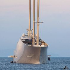 The most talked about yacht on the seas - S/Y A as seen by @julien_hubert