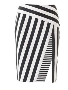 Asymmetric Pencil Skirt 04/2016 #113B