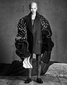 Лучшие супермодели приняли участие в фотосессии для сентябрьского номера Vogue Japan. - Новости леди