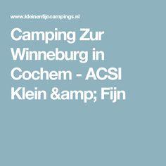 Camping Zur Winneburg in Cochem - ACSI Klein & Fijn
