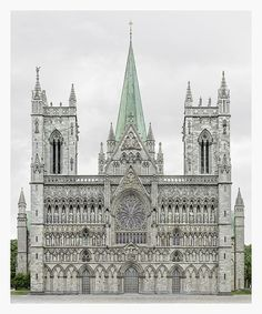 Nidarosdomen (1070-1300). Trondheim, Norway. Photo : Markus Brunetti