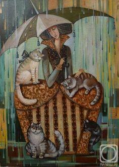 Raining cats--no dogs allowed...  (Kira Panina)