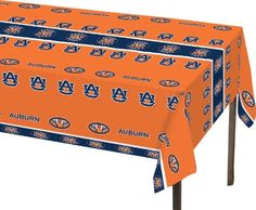 Creative Converting Auburn Tigers Plastic Banquet Table Cover ** Check out the image by visiting the link.  This link participates in Amazon Service LLC Associates Program, a program designed to let participant earn advertising fees by advertising and linking to Amazon.com.
