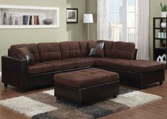 Loveseat Recliner Chaise Sectional Sofa Couch Living Room Den TV