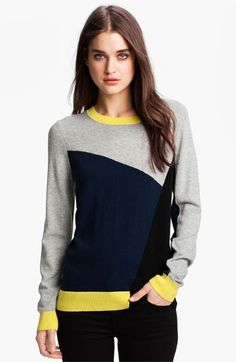 Joie 'Emani' Colorblock Sweater available at #Nordstrom