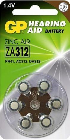 GP 312 / PR41 (bruin) 1,4Volt Zinc Air Hoorapparaat batterij - M-battery