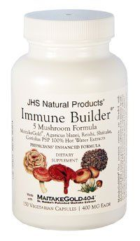 JHS Natual Products Immune Builder 5 Mushroom Formula 400 mg 150 vcaps *** Be sure to check out this awesome product.