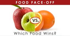 Food Face-Off: Dietitians Compare Two Foods and Tells You Which One Wins. Lots of surprises!  via HealthCastle.com
