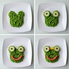 Once upon a time... kids didn't like their vegetables. But cute food art changed all that!