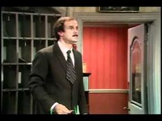 The Fire Drill Scene from Fawlty Towers episode The Germans. This episode is known for Basil's frogmarching and madness at the end. But before that, Basil tries to arrange a practice fire drill at the hotel. This leads to confusion and calamity - and a REAL fire.