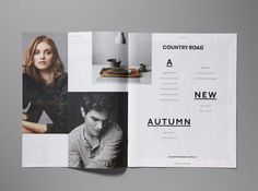 Ortolan : Projects : Print + Design : Country Road AW '13 Catalogues