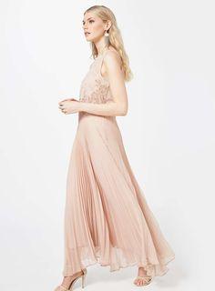 Pink Embellished Maxi Dress - Miss Selfridge