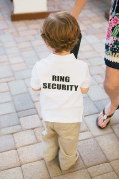 Too cute! What an adorable idea for the ring bearer! | Photo from Style Me Pretty #weddings