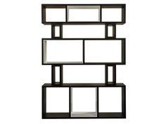 Offenes Bücherregal aus Holzfurnier HYRAGANA by AZEA | Design Victor Caetano