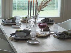 Mansikkatilan mailla: Kun en keramiikkakurssille päässyt... Marimekko, Table Settings, Place Settings, Tablescapes
