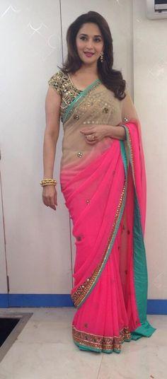Madhuri Dixit - Arpita Mehta sari