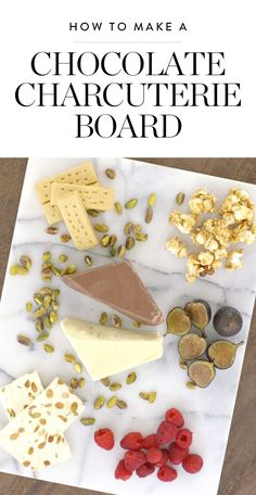 Fact: Every holiday party you attend this year will have a cheese plate. But we promise that your party will be the only one with a dessert charcuterie board loaded with popcorn, cookies, fruit, nougat and two types of chocolate. Watch and learn how easy it is to stand out from the crowd.