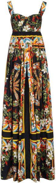 Dolce  and  Gabbana  Long Dress
