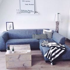 Т Couch, Furniture, Home Decor, Settee, Sofa, Couches, Interior Design, Sofas, Home Interior Design