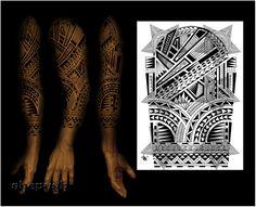 3 / 4 sleeve design by shepush.deviantart.com on @DeviantArt