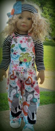 Happiness! for Kidz n Cats or other Slim18 inch dolls such as Magic Attic