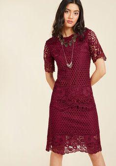 Glorious Gorgeousness Shift Dress