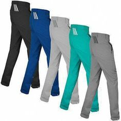 60c1549e809 Adidas Golf 2016 Mens Puremotion 3 Stripes Pant Performance Tech Trousers  in Clothes