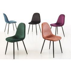 Forskjellige farger stoler på Skeidar Dining Chairs, Colour, Furniture, Home Decor, Ideas, Modern, Ad Home, Color, Dining Chair