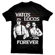"Exclusive Blood In Blood Out ""Vatos Locos Forever"" T-Shirt. Get yours now!"