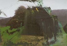 Gerhard Richter, Baumgruppe (Clump of Trees), 1987, 72 cm x 102 cm, Oil on canvas