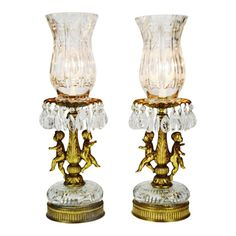 Home Lighting, Lighting Ideas, Outdoor Lighting, How To Antique Wood, Hollywood Regency, Candle Holders, Table Lamp, Bright Apartment, Billionaire Lifestyle