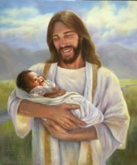 art christ holding fetus   Please God, Please God, PLEASE!! Show up BIG!!!!