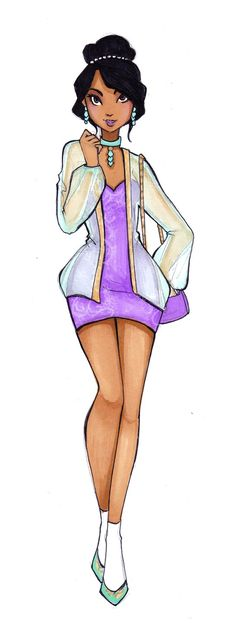 Disney High Design Contest 2nd place by Nina-D-Lux on deviantART