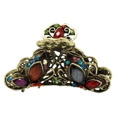 Free Shipping. Buy Color Gems Bronze Butterfly Hair Claw Clip at Walmart.com
