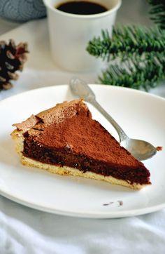 Elodie's Bakery: Tarte au chocolat et au café   Chocolate and coffee tart