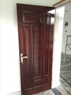 Main Door Jaali Lights 67 Ideas For 2019 Flush Door Design, Single Door Design, Wooden Main Door Design, Modern Wooden Doors, Double Door Design, Door Gate Design, Room Door Design, Door Design Interior, Modern Exterior Doors