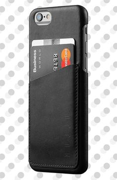 MUJJO Leather Wallet Case for iPhone 6 available at #Nordstrom