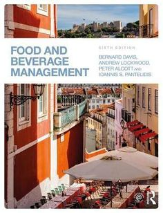 This introductory textbook provides a thorough guide to the management of food and beverage outlets, from their day-to-day running through to the wider concerns of the hospitality industry. It explores the broad range of subject areas that encompass the food and beverage market and its main sectors – fast food and casual dining, hotels and quality restaurants and event, industrial and welfare catering...
