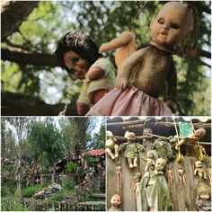 Haunted places - Island of the dolls