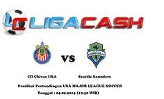 Prediksi Bola CD Chivas USA vs Seattle Sounders 04/09/2014 USA MAJOR LEAGUE SOCCER | Liga Cash