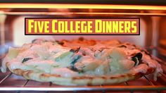 Mastering Student Cooking: Dinner - 5 Meals, 5 ingredients - YouTube