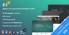 P1 - One Page Parallax + RTL  -  https://themekeeper.com/item/site-templates/p1-one-page-parallax-rtl