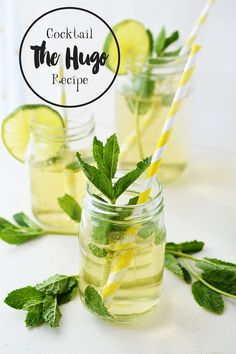 With a blend of sparkling prosecco, sweet elderflower and fresh lime, the Hugo is a must at any barbecue this summer. Get the recipe here!