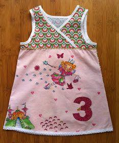 kleine Kuschelrobbe: Geburtstagskleid für die kleine Dame