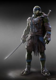 Teenage Mutant Ninja Turtles - Leonardo by Jared Krichevsky *
