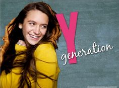 Here's a great slideshow presentation about the Y Generation. Click it to view it