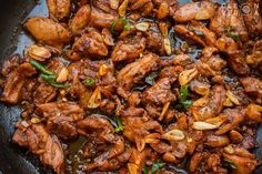 Chicken Salpicao Recipe Catering Menu, Stuffed Whole Chicken, Kung Pao Chicken, Tasty Dishes, Chicken Wings, Poultry, Chicken Recipes, Stuffed Mushrooms